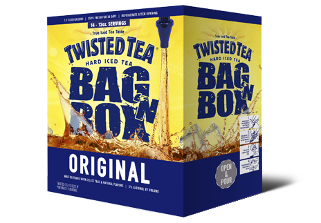 Twisted Tea Bag N' Box
